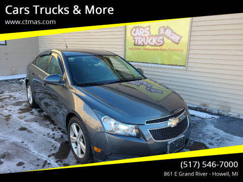 2013 Chevrolet Cruze for sale at Cars Trucks & More in Howell MI