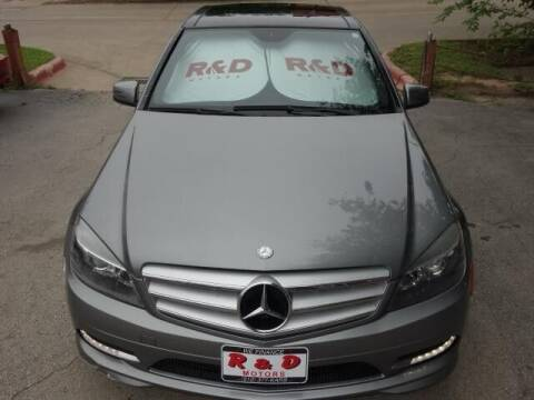 2011 Mercedes-Benz C-Class for sale at R & D Motors in Austin TX