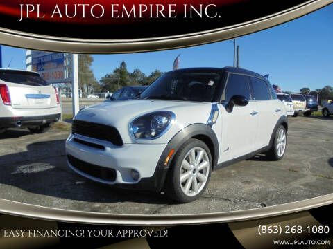 2013 MINI Countryman for sale at JPL AUTO EMPIRE INC. in Auburndale FL