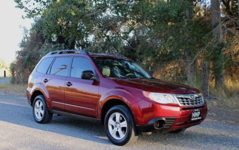 2013 Subaru Forester for sale at Northwest Premier Auto Sales in West Richland WA