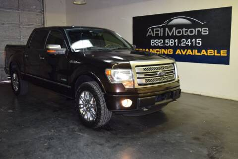 2013 Ford F-150 for sale at ARI Motors in Houston TX
