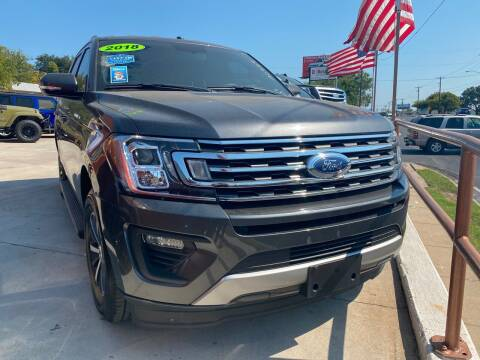 2018 Ford Expedition for sale at Speedway Motors TX in Fort Worth TX
