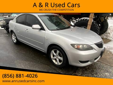 2004 Mazda MAZDA3 for sale at A & R Used Cars in Clayton NJ