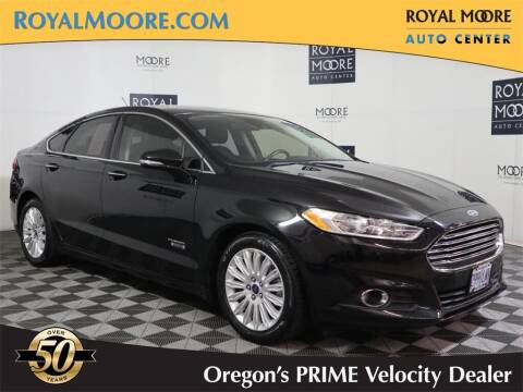 2016 Ford Fusion Energi for sale at Royal Moore Custom Finance in Hillsboro OR