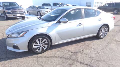 2020 Nissan Altima for sale at Salmon Automotive Inc. in Tracy MN
