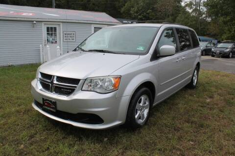 2012 Dodge Grand Caravan for sale at Manny's Auto Sales in Winslow NJ