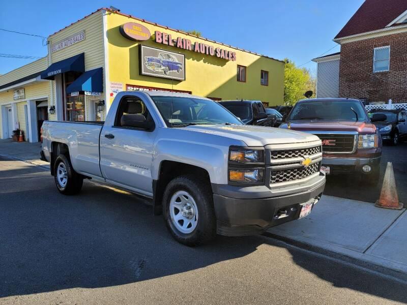 2014 Chevrolet Silverado 1500 for sale at Bel Air Auto Sales in Milford CT