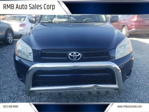 2006 Toyota RAV4 for sale at RMB Auto Sales Corp in Copiague NY