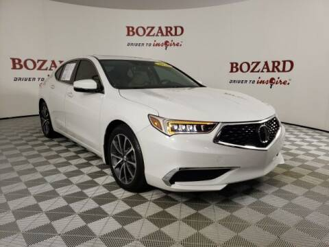 2020 Acura TLX for sale at BOZARD FORD in Saint Augustine FL