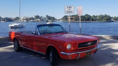 1964 Ford Mustang for sale at CARuso Classic Cars in Tampa FL