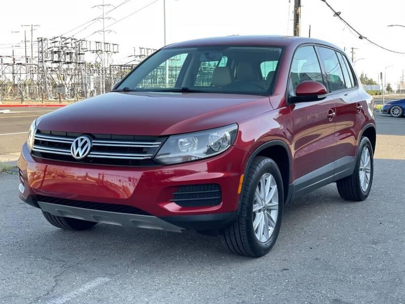 2014 Volkswagen Tiguan for sale at California Auto Deals in Sacramento CA