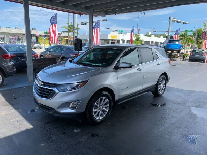 2019 Chevrolet Equinox for sale at American Auto Sales in Hialeah FL