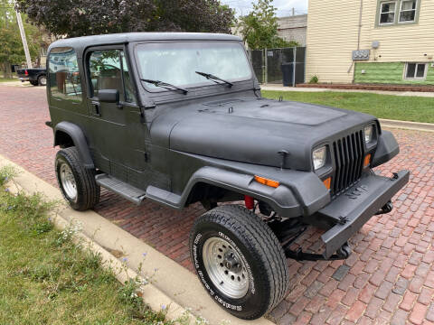 1992 Jeep Wrangler for sale at RIVER AUTO SALES CORP in Maywood IL