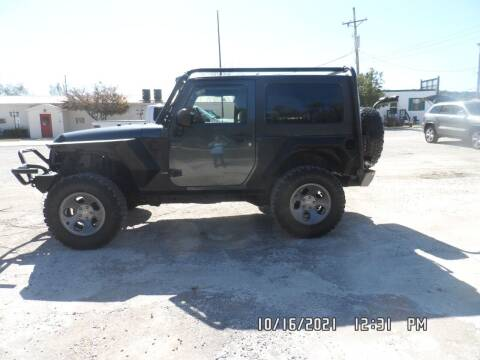 2008 Jeep Wrangler for sale at Town and Country Motors in Warsaw MO