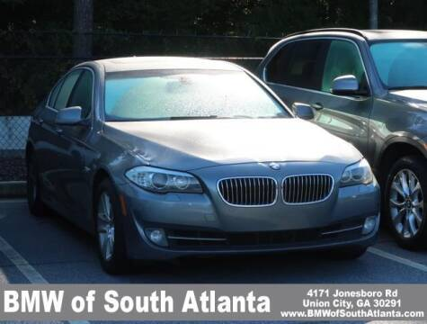 2012 BMW 5 Series for sale at Carol Benner @ BMW of South Atlanta in Union City GA