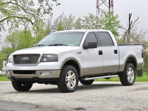 2005 Ford F-150 for sale at Tonys Pre Owned Auto Sales in Kokomo IN