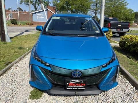 2017 Toyota Prius Prime for sale at Beach Auto Brokers in Norfolk VA