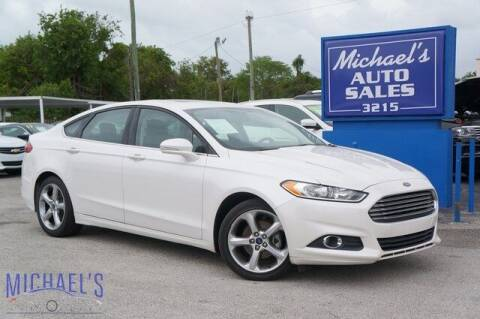 2015 Ford Fusion for sale at Michael's Auto Sales Corp in Hollywood FL