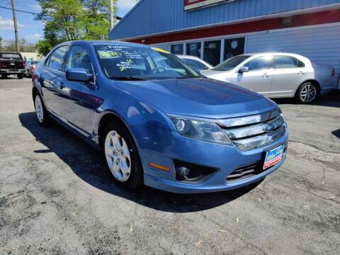 2010 Ford Fusion for sale at Peter Kay Auto Sales in Alden NY
