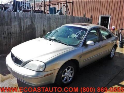 2000 Mercury Sable for sale at East Coast Auto Source Inc. in Bedford VA