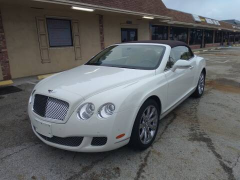 2011 Bentley Continental for sale at LAND & SEA BROKERS INC in Pompano Beach FL
