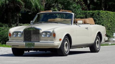 1989 Rolls-Royce Corniche for sale at Premier Luxury Cars in Oakland Park FL