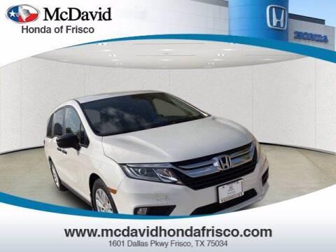 2020 Honda Odyssey for sale at DAVID McDAVID HONDA OF IRVING in Irving TX