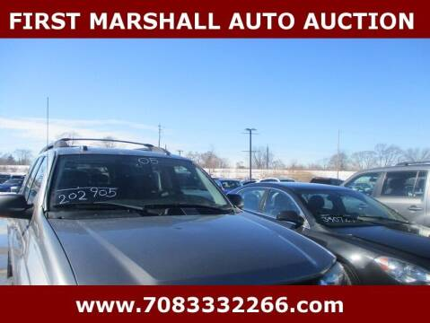 2005 Chevrolet TrailBlazer EXT for sale at First Marshall Auto Auction in Harvey IL