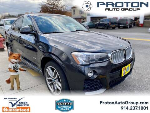 2016 BMW X4 for sale at Proton Auto Group in Yonkers NY