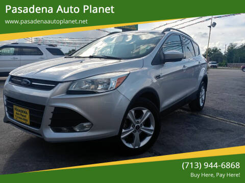 2014 Ford Escape for sale at Pasadena Auto Planet in Houston TX