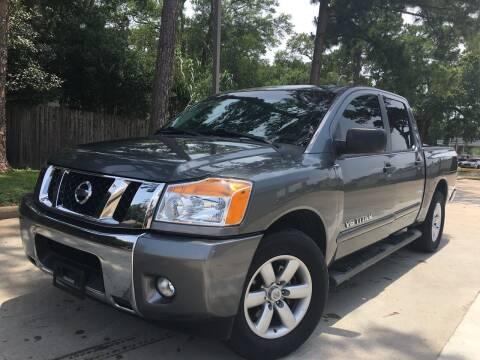 2014 Nissan Titan for sale at Laguna Niguel in Rosenberg TX