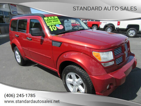 2010 Dodge Nitro for sale at Standard Auto Sales in Billings MT