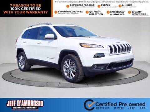 2018 Jeep Cherokee for sale at Jeff D'Ambrosio Auto Group in Downingtown PA