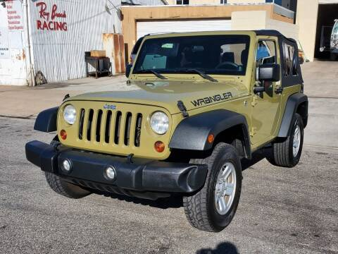 2013 Jeep Wrangler for sale at Convoy Motors LLC in National City CA