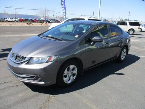 2015 Honda Civic for sale at ALOHA USED CARS in Las Vegas NV