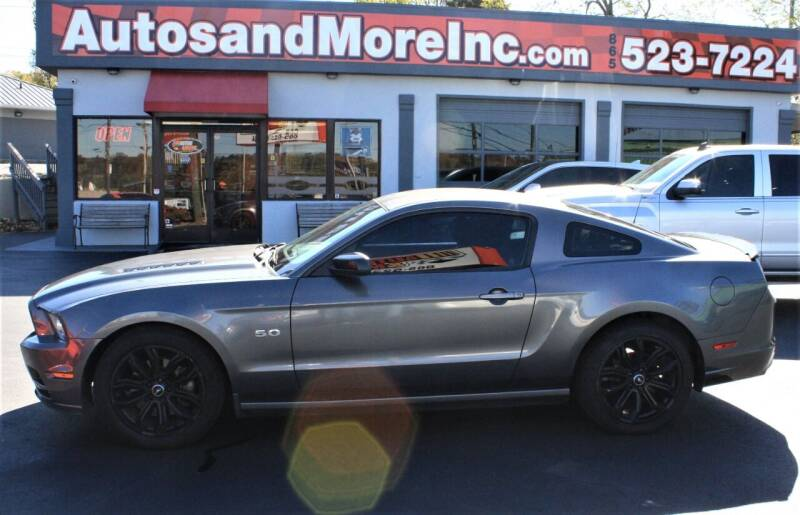 2014 Ford Mustang for sale at Autos and More Inc in Knoxville TN