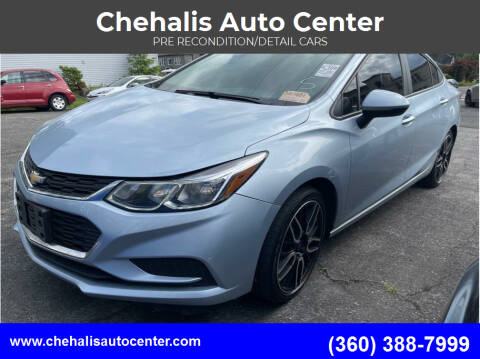 2017 Chevrolet Cruze for sale at Chehalis Auto Center in Chehalis WA