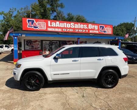 2018 Jeep Grand Cherokee for sale at LA Auto Sales in Monroe LA