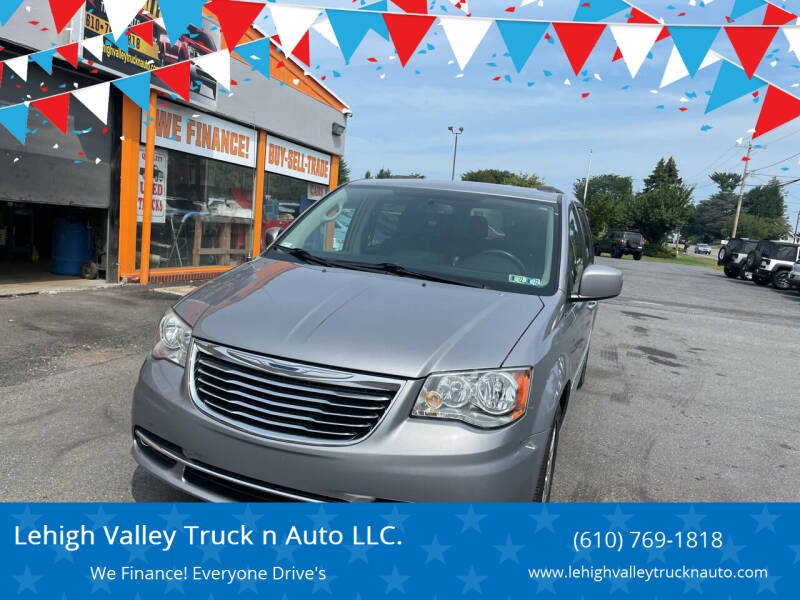 2014 Chrysler Town and Country for sale at Lehigh Valley Truck n Auto LLC. in Schnecksville PA
