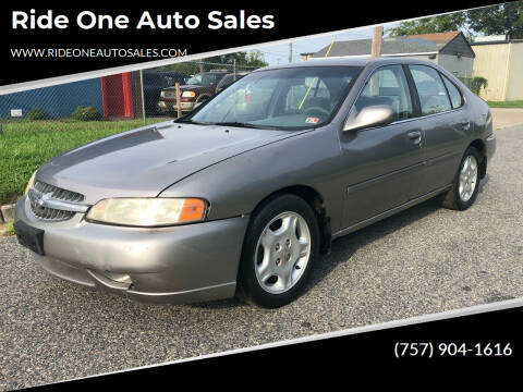 2000 Nissan Altima for sale at Ride One Auto Sales in Norfolk VA