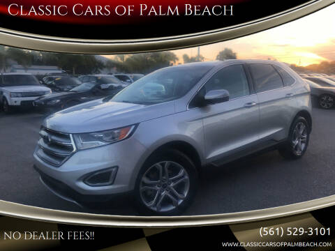 2018 Ford Edge for sale at Classic Cars of Palm Beach in Jupiter FL