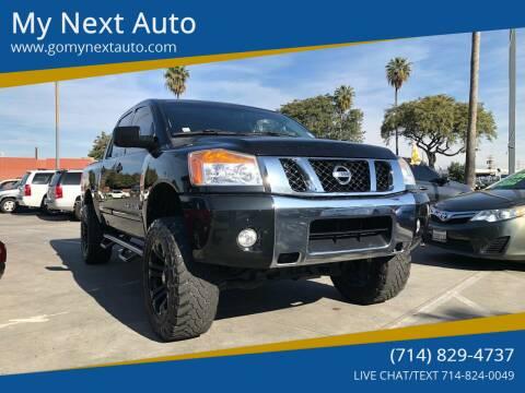 2012 Nissan Titan for sale at My Next Auto in Anaheim CA