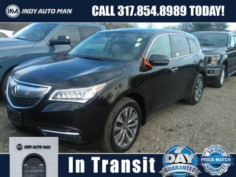 2015 Acura MDX for sale at INDY AUTO MAN in Indianapolis IN