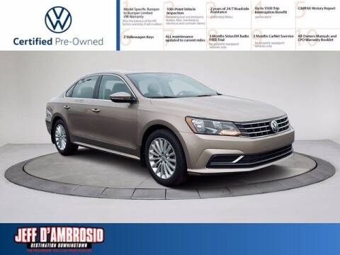 2016 Volkswagen Passat for sale at Jeff D'Ambrosio Auto Group in Downingtown PA