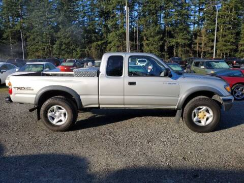 2002 Toyota Tacoma for sale at WILSON MOTORS in Spanaway WA