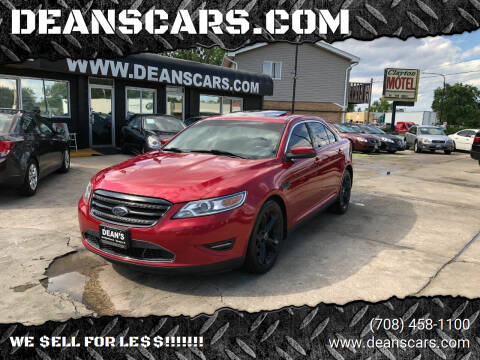 2010 Ford Taurus for sale at DEANSCARS.COM in Bridgeview IL
