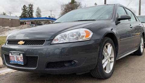 2016 Chevrolet Impala Limited for sale at Knowlton Motors, Inc. in Freeport IL