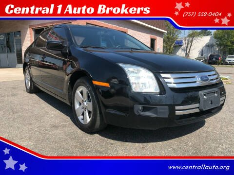 2008 Ford Fusion for sale at Central 1 Auto Brokers in Virginia Beach VA