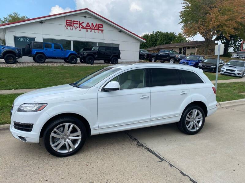 2015 Audi Q7 for sale at Efkamp Auto Sales LLC in Des Moines IA