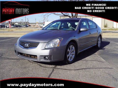 2007 Nissan Maxima for sale at Payday Motors in Wichita And Topeka KS